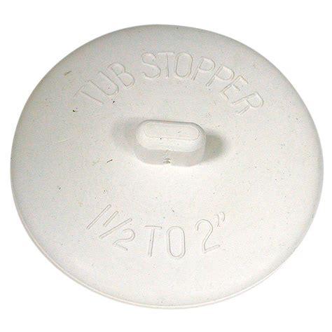 universal bathtub stopper danco 1 1 2 in 2 in universal tub stopper 80783 the