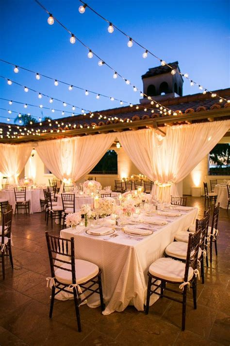 dreamy white  blush california wedding  bacara resort