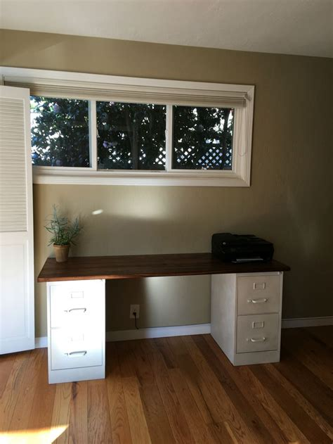 desk with file cabinets 25 best ideas about file cabinet desk on filing cabinet desk diy office desk and