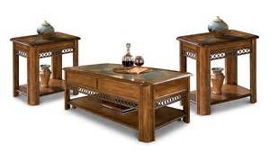 End Tables And Coffee Tables Coffee Table And Two End Tables Nutmeg S