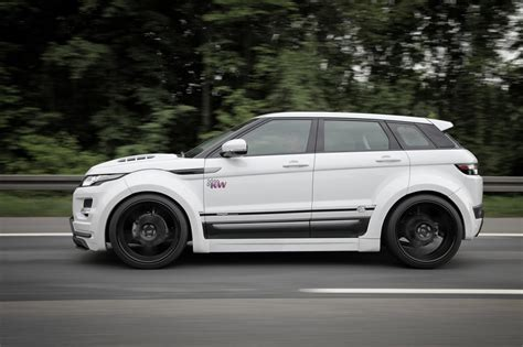 range rover evoque modified prior design range rover evoque pd650 widebody kit
