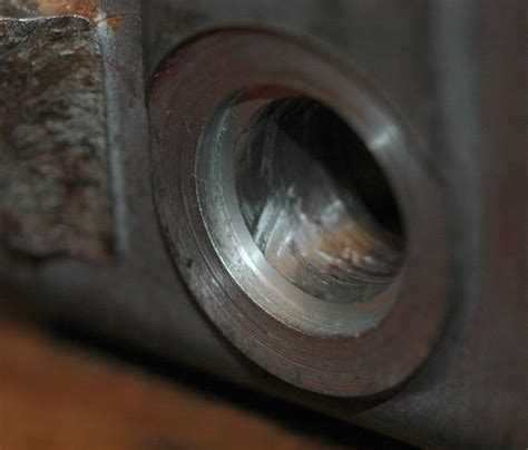 Counter Sink Holes the wenga postie bike project gt how to use a time sert thread repair insert