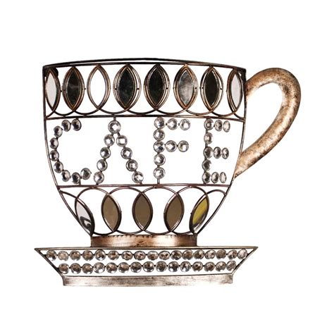Coffee Cup Wall Decor by Home Source Industries 400 26710 Caf 233 Coffee Cup Wall