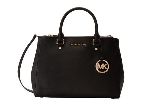 M Hael Kors Medium Satchel michael michael kors sutton medium satchel in black lyst