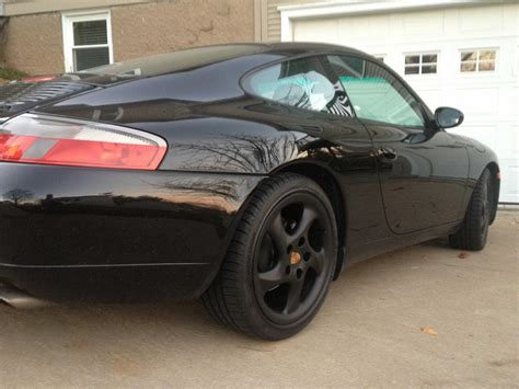 porsche before and after i sprayed my wheels with plastidip today look at before