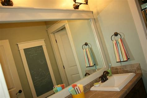 framing out a bathroom mirror pin by donna dyer mcmurry on inspiration for bathrooms