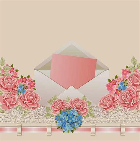 cara membuat undangan vintage 25 contoh undangan simple dan soft atau cara membuat
