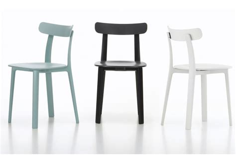sedie vitra all plastic chair vitra sedia milia shop