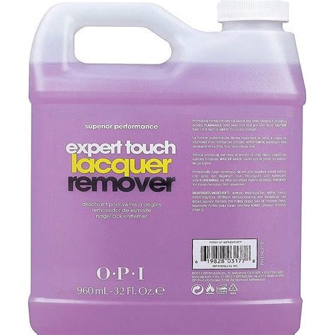 opi nail treatment expert touch lacquer remover 960ml