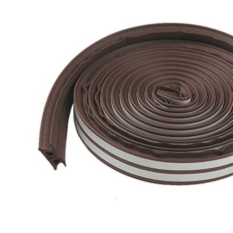 m d building products 3 8 in x 17 ft brown silicone