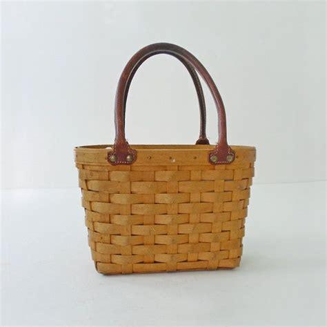 longaberger baskets longaberger basket purse pocketbook handbag nantucket basket