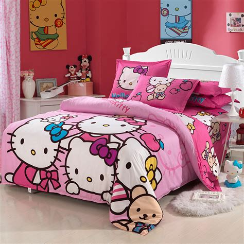 hello kitty full size comforter set new hello kitty children kids bedding sets for girls twin