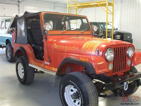 1979 jeep cj 5 renegade original paint and with sbc v8