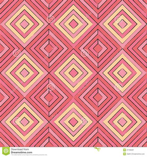 abstract pattern shapes abstract geometric shapes seamless pattern stock vector
