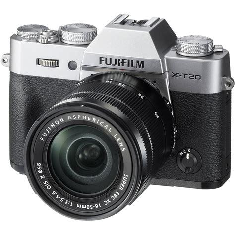 fuji mirrorless fujifilm x t20 mirrorless digital with 16 50mm 16542880