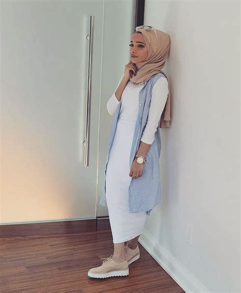 style casual muslim pinterest style hijab swag 2017