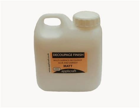 Decoupage Finish - 500ml decoupage finish matt
