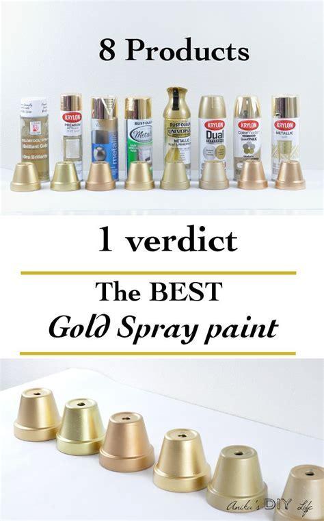 Best 25  Metallic gold spray paint ideas on Pinterest