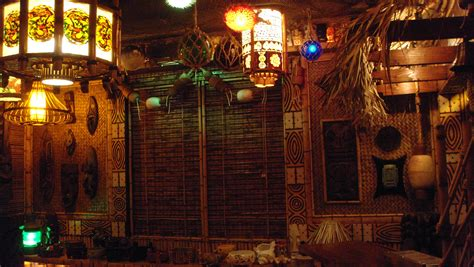 tiki bar decor at home readers photos of their tiki