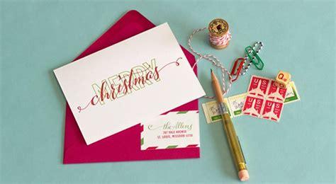 handmade calligraphy christmas cards   diy