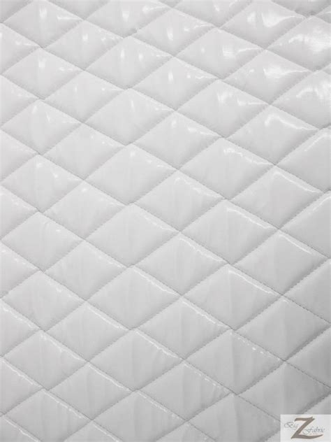 White Quilted Fabric by Vinyl Quilted Fabric 1 2 Quot Foam Upholstery Backing Shiny