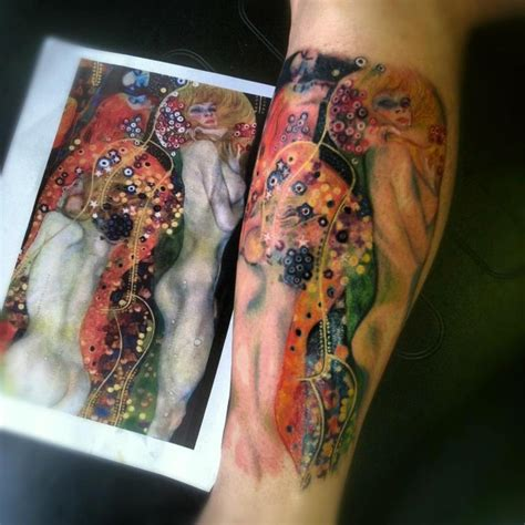 gustav klimt tattoo klimt by brennan tattoos
