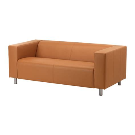 klippan loveseat kimstad light brown ikea