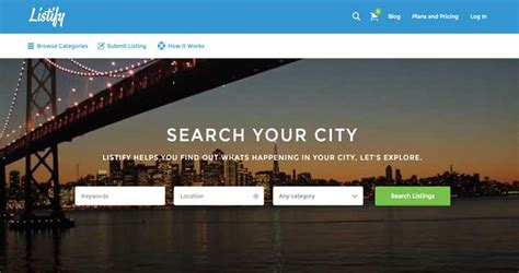 listify theme 21 best premium wordpress directory themes collection 2015
