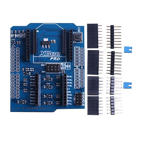 Xbee Shield With Logic Level Converter 1 xbee shield with logic level converter shd08