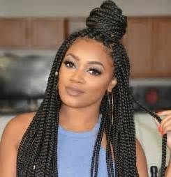 hairstyles with half of in braids 50 exquisite box braids hairstyles to do yourself