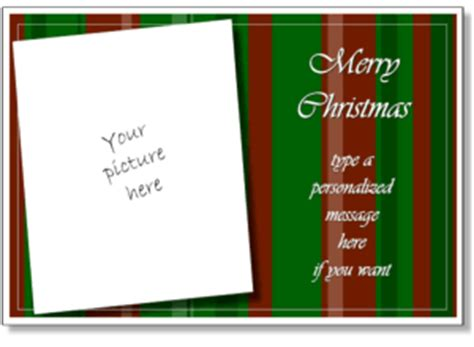 free printable christmas cards add photo christmas card templates add your own photo printable