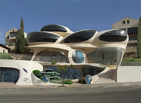 futuristic home design concepts biomorphic house by pavie architects tuvie