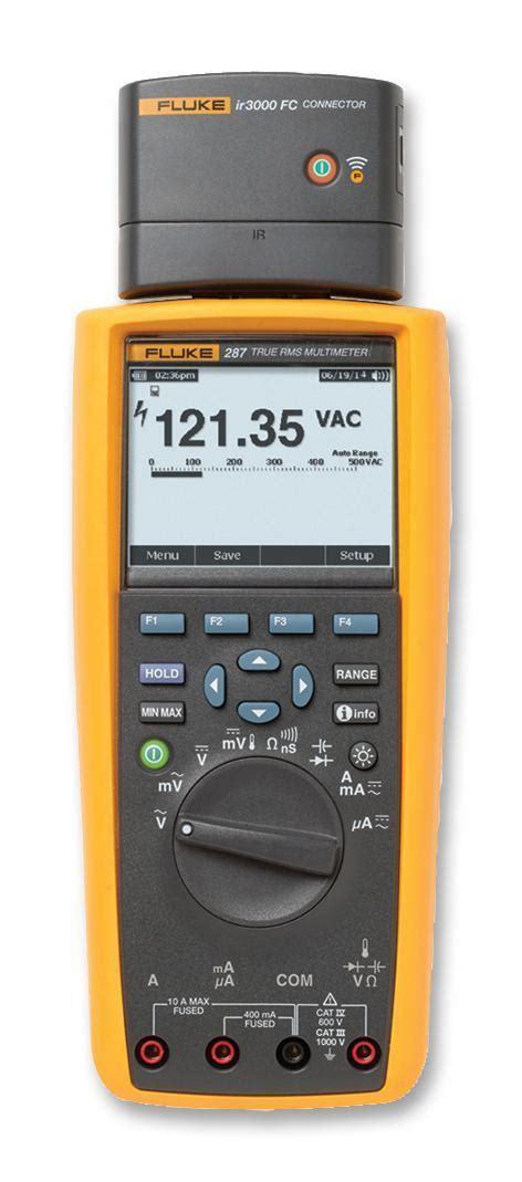 Multimeter Fluke 287 fluke 287 ir3000fc fluke sos electronic