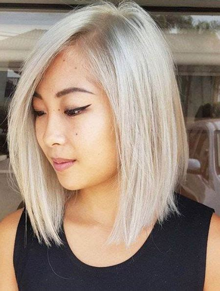 long blonde asian hairstyles 30 shoulder length bob haircuts 2017 bob hairstyles