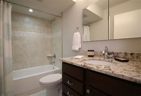 Florida Bathroom Designs by Vintage Florida Beach Condo Gets A Transitional Remodel