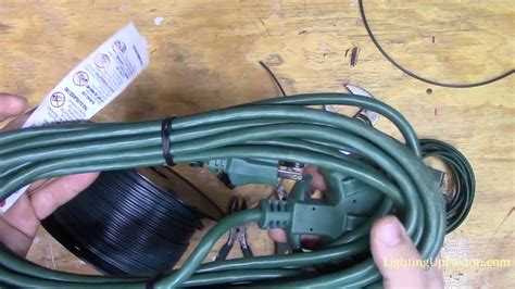 how to make a christmas light extension cord how to make custom extension cords for displays