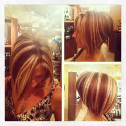 bob haircut with chunky highlites 1000 images about hairstyle color on pinterest