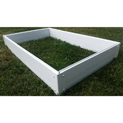 Vinyl Raised Garden Beds by New Age Pet 2 Ft X 4 Ft Ecoconcepts Raised Garden Bed