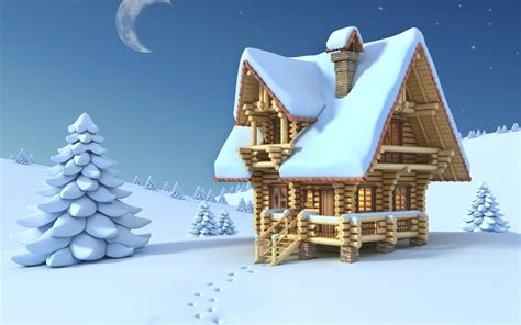 Home Scene Interiors by Cartoon Winter Images Wallpaper Wallpaper Hd