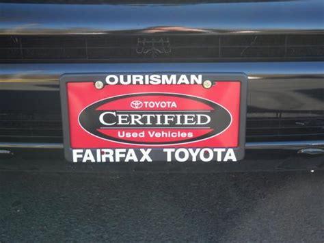Toyota Dealerships Northern Va Ourisman Fairfax Toyota Fairfax Va 22030 2251 Car