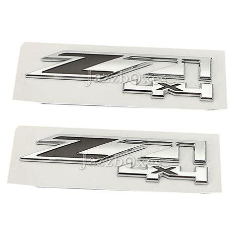 Badge Tsukiuta Pair 3 Pcs 2pcs 3d z714x4 sticker emblem badge for chevrolet