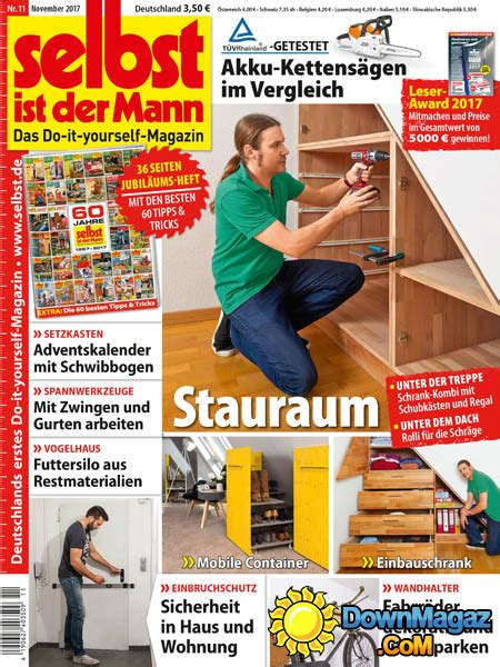 selbst ist der mann    magazines