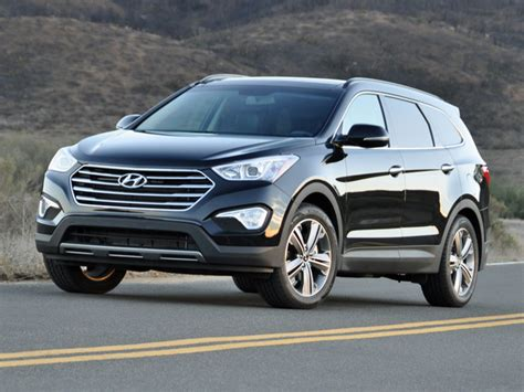 Most Comfortable 7 Passenger Suv by 2014 Hyundai Santa Fe Overview Cargurus