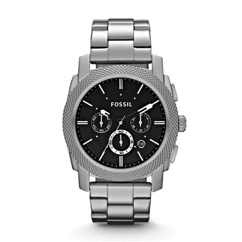 Fossil Machine Chronograph Stainless Steel Watch, FS4776  FOSSIL®