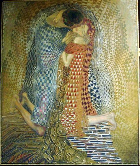 Klimt Der Kuss Interpretation by 1000 Images About Klimt On
