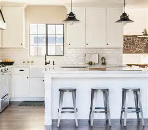 White Kitchen Bronze Hardware Distressed Pantry Door Cottage Kitchen Rafterhouse