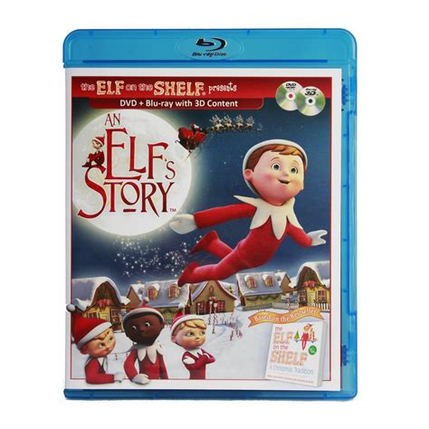 On The Shelf With Dvd by An Elfs Story Dvd Combo Set By On The