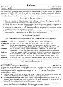 software engineer resume exle
