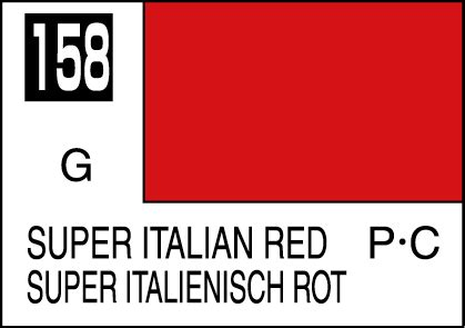 Mr Color C158 Italian mr color paint italian 10ml c158 gsi c 158
