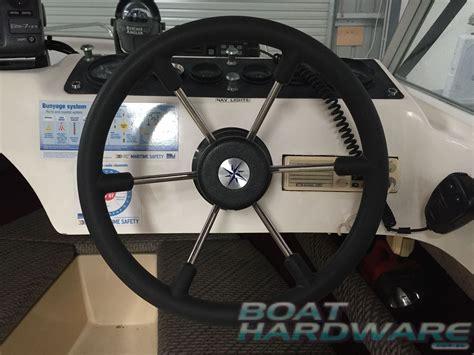 boat steering wheel maintenance boat steering wheel 6 spoke dished 360mm made in italy